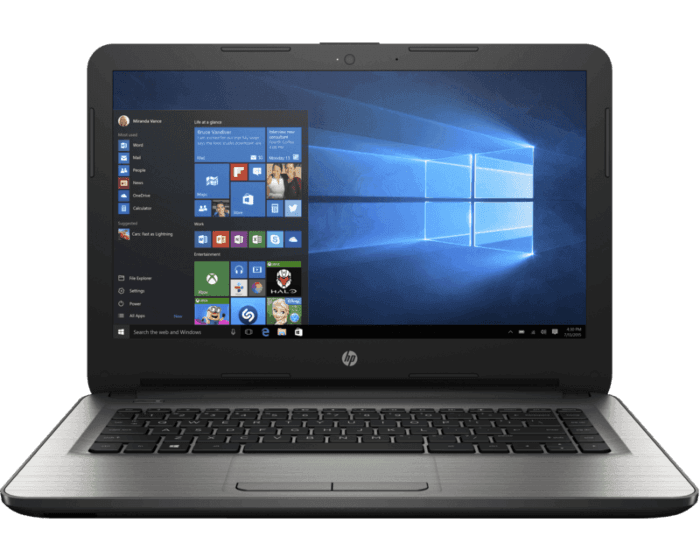Laptop HP 14-am072la