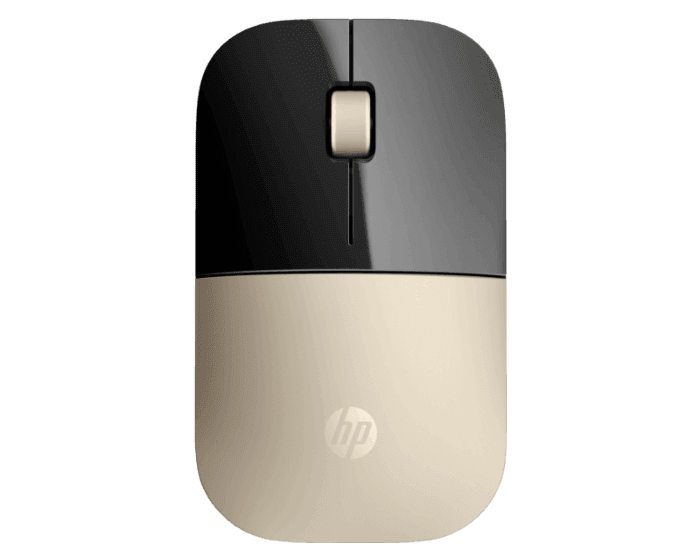 Mouse Inalámbrico HP Z3700 Dorado