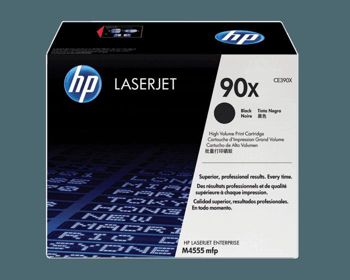 Cartucho de Tóner HP 90X Negro Alto Rendimiento LaserJet Original