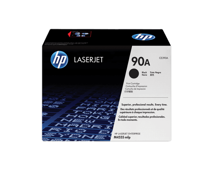 Cartucho de Tóner HP 90A Negro LaserJet Original