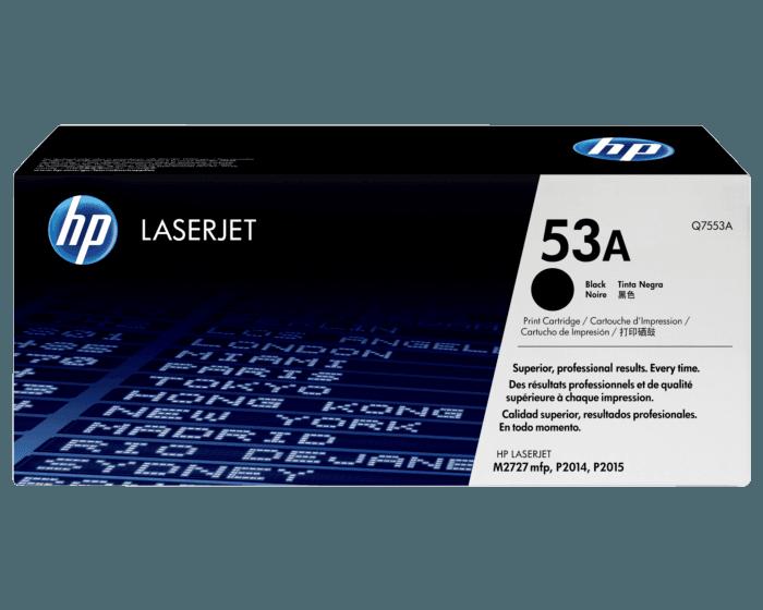 Cartucho de Tóner HP 53A Negro LaserJet Original