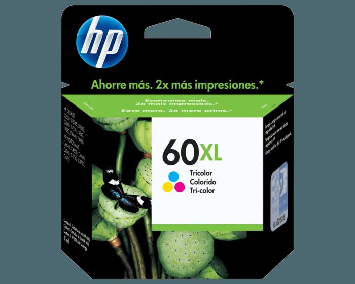 Cartucho de Tinta HP 60XL Tricolor Original