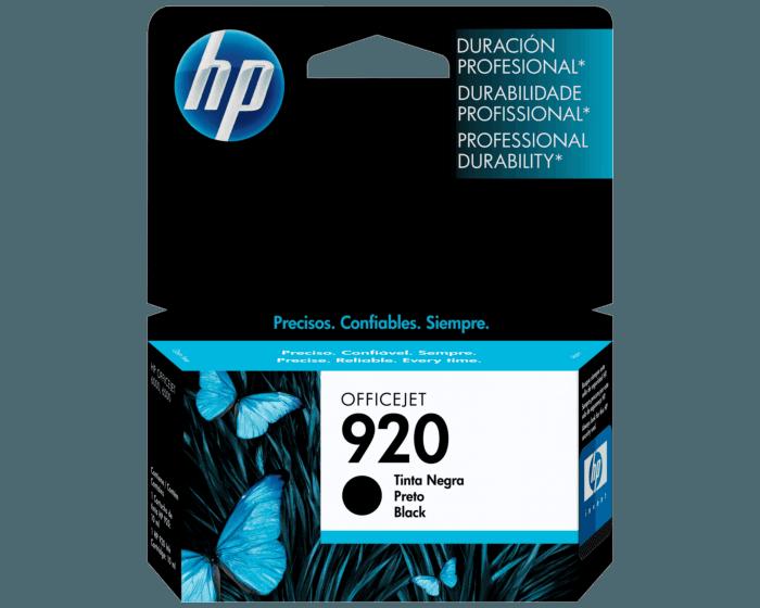 Cartucho de Tinta HP 920 Negra Original