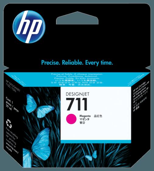 Cartucho de Tinta HP 711 Magenta DesignJet Original de 29 ml