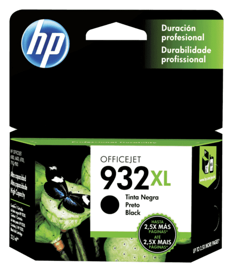 Cartucho de Tinta HP 932XL Negra Original