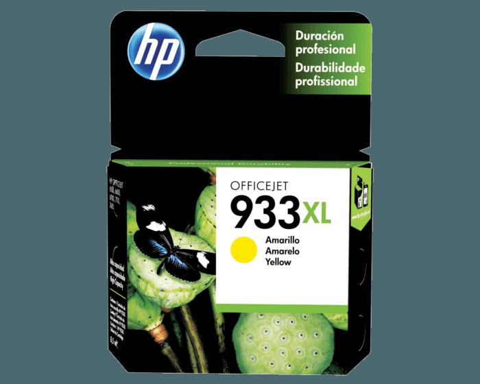 Cartucho de Tinta HP 933XL Amarilla Original