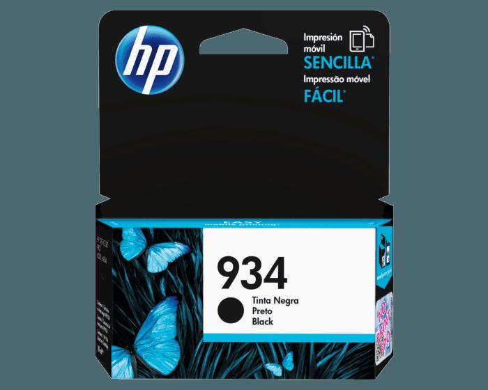 Cartucho de Tinta HP 934 Negra Original