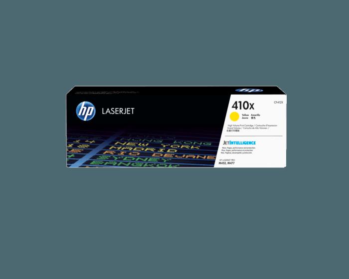 Cartucho de Tóner HP 410X Amarillo LaserJet Original