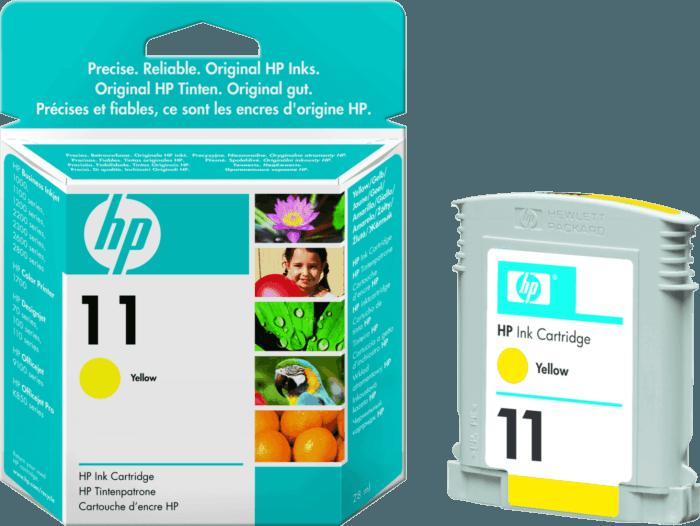 Cartucho de Tinta HP 11 Amarilla Original