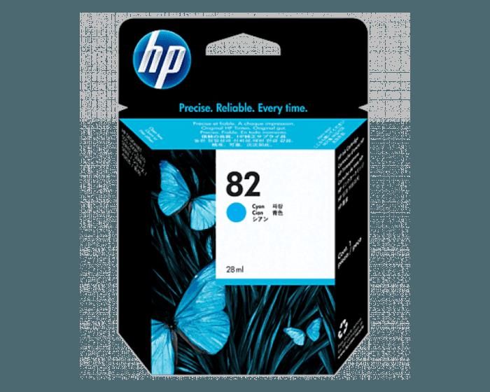 Cartucho de Tinta HP 82 Cian DesignJet Original