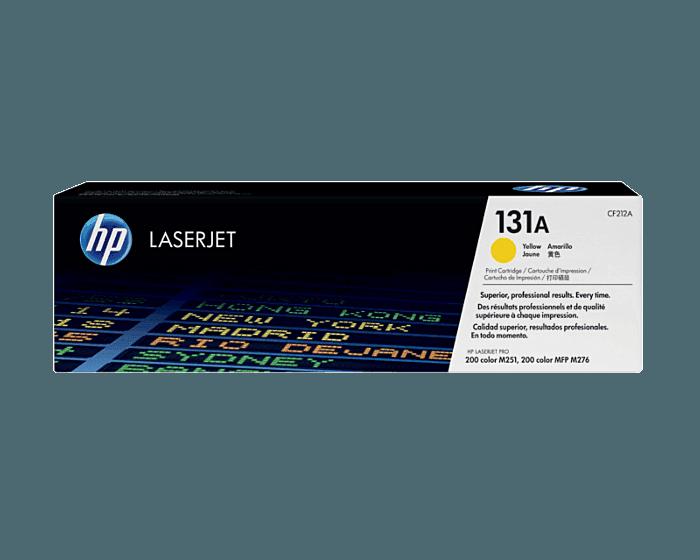 Cartucho de Tóner HP 131A Amarillo LaserJet Original