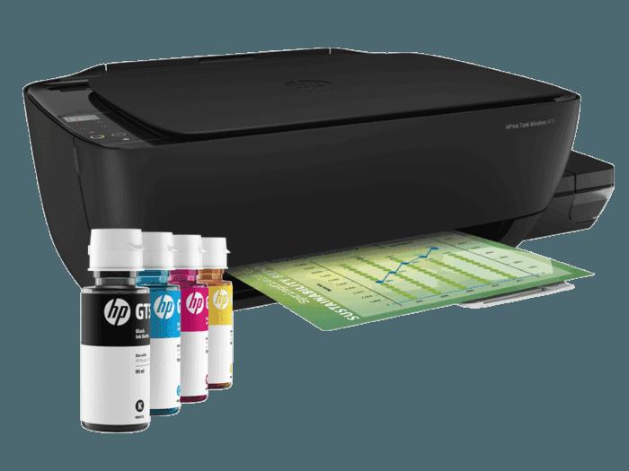 Impresora HP Ink Tank Wireless 415 + Tinta HP GT53 Negro + Tinta HP GT52 Amarilla + Tinta HP GT52 Magenta + Tinta HP GT52 Cian
