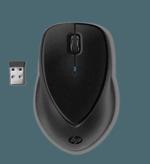 Mouse HP de Sujeción Cómoda Inalámbrico