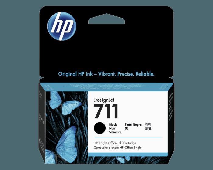 Cartucho de Tinta HP 711 Negra Original