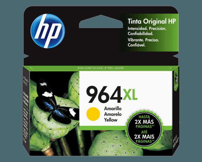 Cartucho de Tinta HP 964XL Amarillo Alto Rendimiento Original