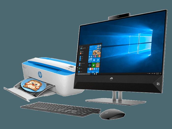 All in One HP Pavilion 24-xa006la + Multifuncional HP Deskjet IA 3775