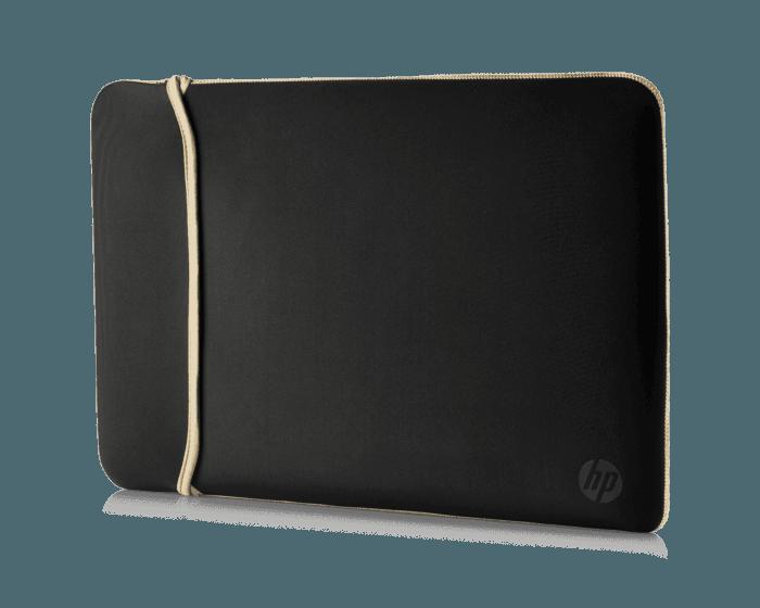Funda de Neopreno HP Reversible Dorado/Negro de 14