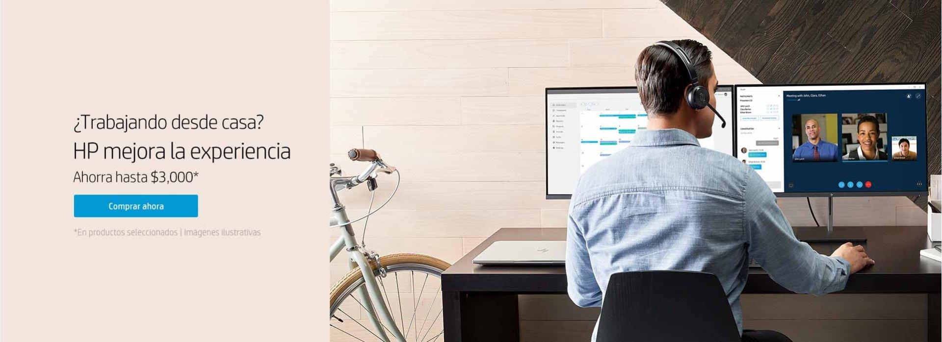 ¿Trabajando desde casa? HP mejora la experiencia
