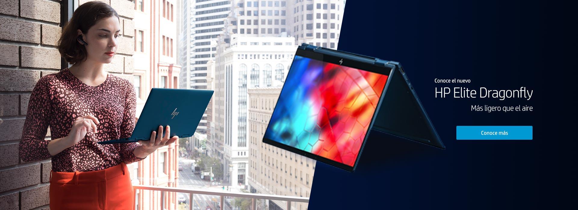 Conoce el nuevo HP Elite Dragonfly | Más ligero que el aire