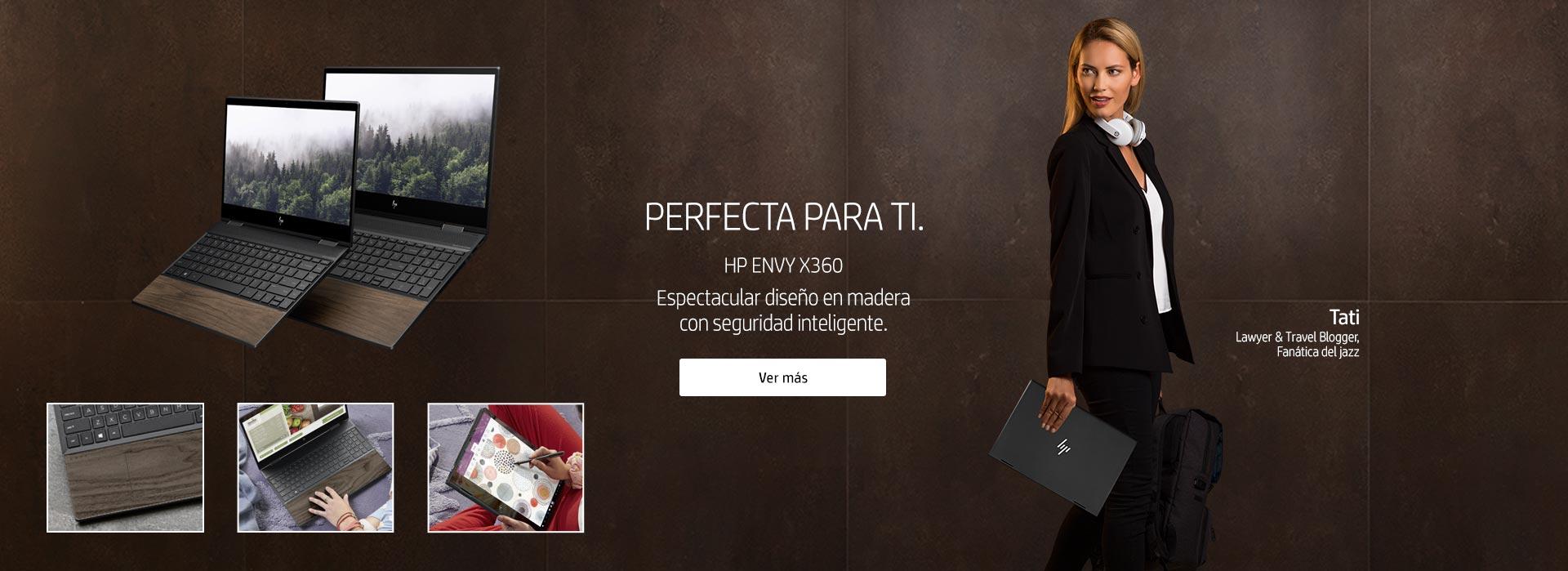 HP Envy x360 | Espectacular diseño en madera con seguridad inteligente