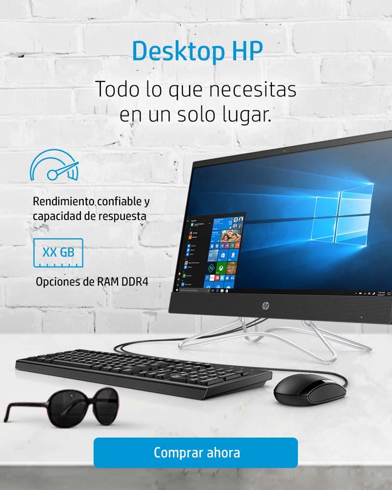 Desktop HP | Todo lo que necesitas en un solo lugar