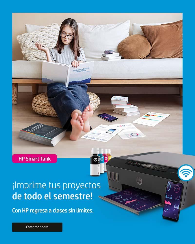 Con HP regresa a clases sin límites | ¡Imprime tus proyectos de todo el semestre!