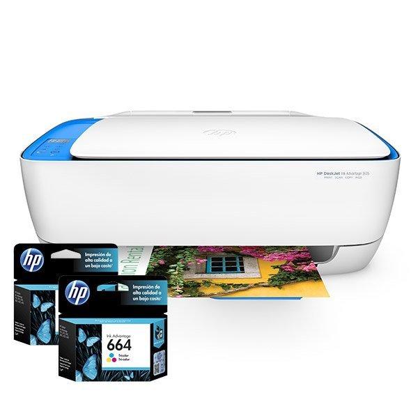 Cartuchos de Tinta para Impresora Multifuncional HP Deskjet Ink Advantage 3635