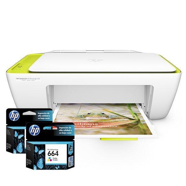 Cartuchos de Tinta para Impresora Multifuncional HP Deskjet Ink Advantage 2135
