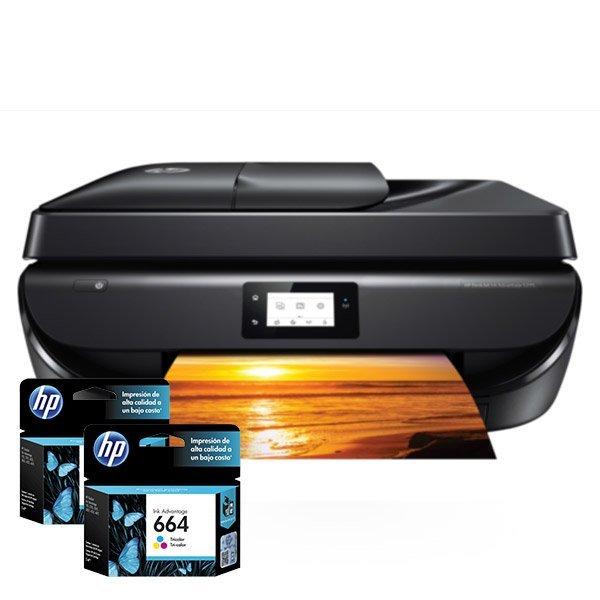 Cartuchos de Tinta para Impresora Multifuncional HP DeskJet Ink Advantage 5275