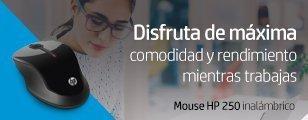 Disfruta la máxima comodidad y rendimiento mientras trabajas | Mouse HP 250 inalámbrico