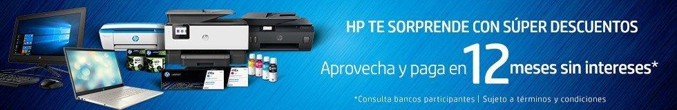 HP te sorprende con super descuentos   Aprovecha y paga en 12 meses sin interéses