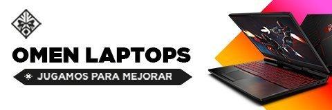 Laptops OMEN | Jugamos para mejorar
