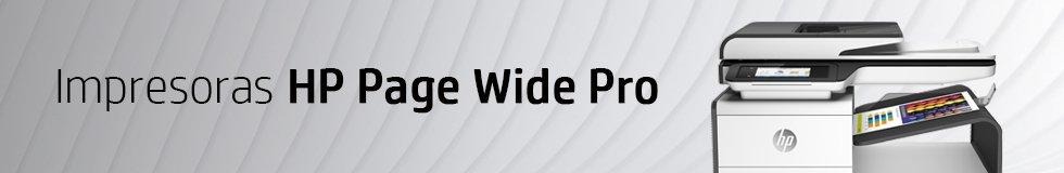 Impresoras HP Page Wide Pro para uso empresarial