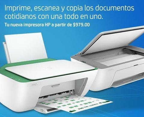 Impresoras todo en uno a partir de $979