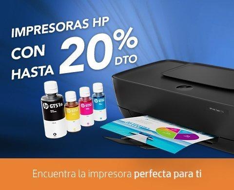 Impresoras HP | con hasta 20% dto