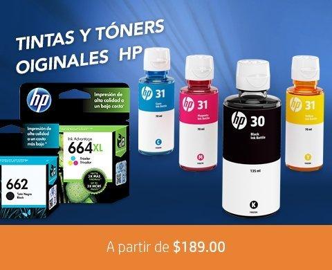 Tintas y Tóners originales HP a partir de $189 | Calidad inigualable HP ¡No te quedes sin tinta!
