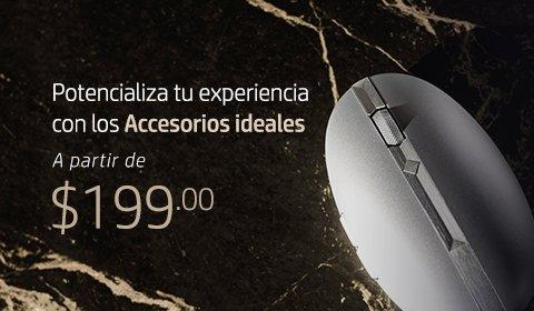 Potencializa tu experiencia con los Accesorios HP ideales a partir de $199