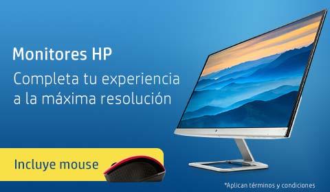 Monitores HP | Completa tu experiencia a la máxima resolución